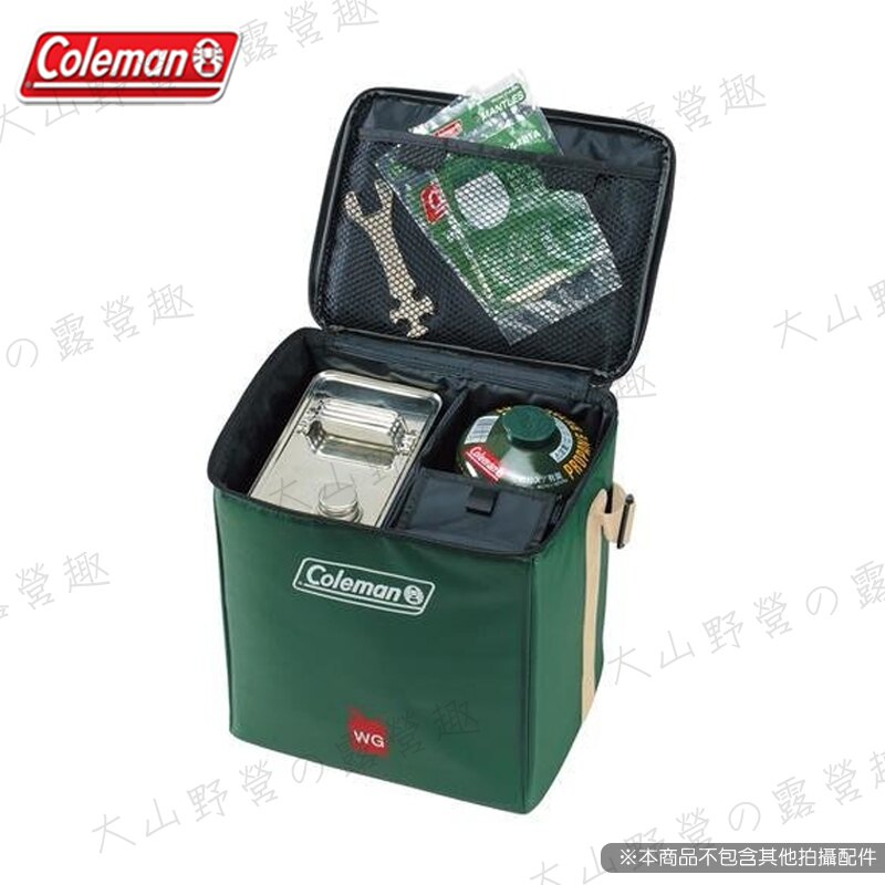 【露營趣】附D型扣環 Coleman CM-6460 燃料收納袋 高山瓦斯 攻頂爐 蜘蛛爐 瓦斯燈 露營燈袋