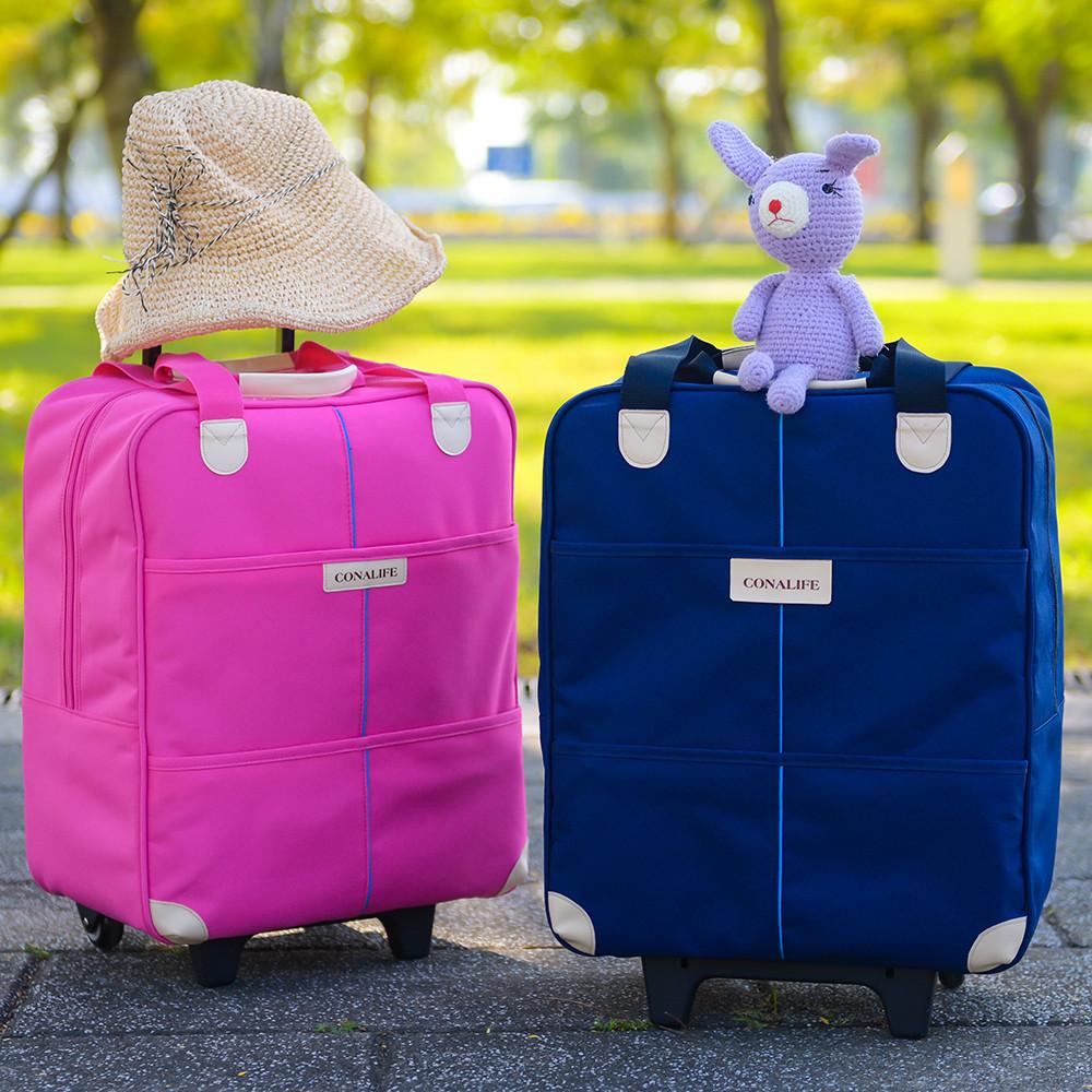台灣製mit 升級版超大容量拉桿購物袋行李包