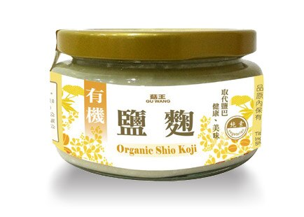 《小瓢蟲生機坊》菇王 - 有機鹽麴 150g/罐 調味品