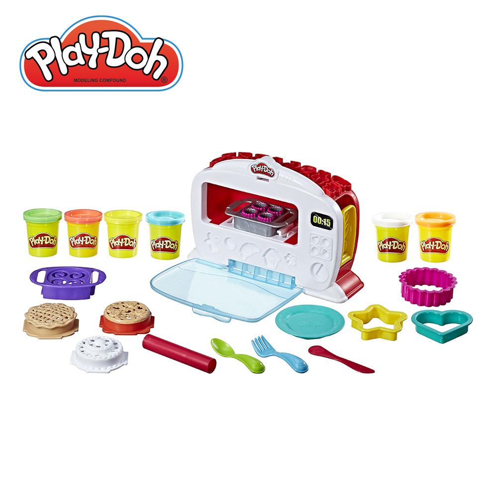 Play-Doh培樂多-廚房系列 神奇烤箱組+4色組