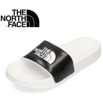 ザ ノースフェイス レディース メンズ サンダル NF01940 ベースキャンプスライド ll ホワイト ブラック THE NORTH FACE