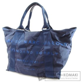 MARC BY MARC JACOBS マークバイマークジェイコブス ロゴ トートバッグ ナイロン素材 レディース 中古
