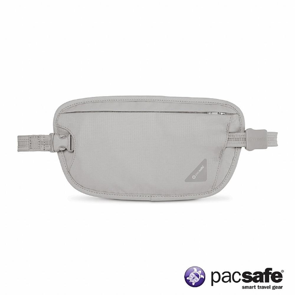 Pacsafe COVERSAFE X100 RFID 安全貼身腰掛暗袋(灰色)