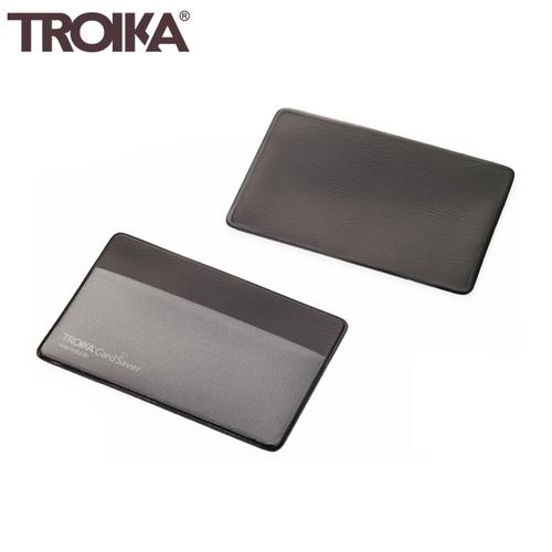 德國TROIKA防盜信用卡夾防盜卡夾防NFC-RFID側錄多功能卡夾防感應卡套防盜刷卡套CAS01/BK