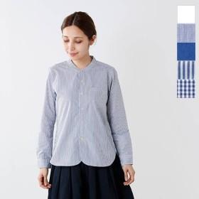 RINEN リネン 100 2ブロードコットンスタンドカラーシャツ 36011 2019aw新作