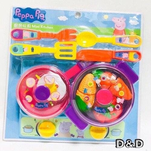 《Peppa Pig 佩佩豬》卡通 廚房遊戲組 東喬精品百貨