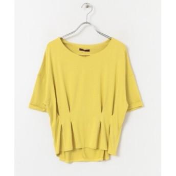 ITEMS(アイテムズ) トップス Tシャツ・カットソー レーヨンタックカットソー