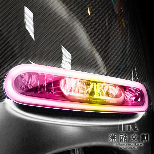 潮酷文創gogoro幻彩燈膜6件組 大燈 方向燈 側燈 保護貼 車貼 車膜 / gs005