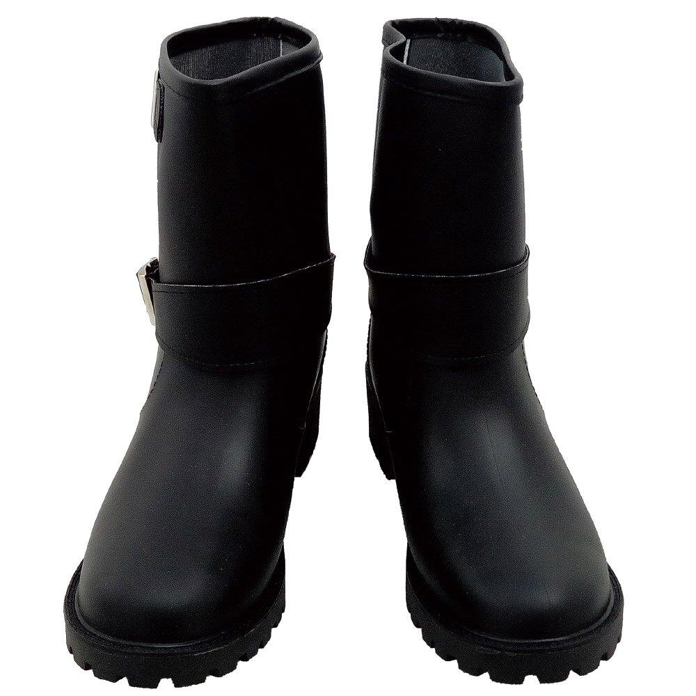 小玩子 台興牌 雨鞋 女用 機車靴 棕/黑 防水 防滑 休閒 舒適 時尚 TS-103