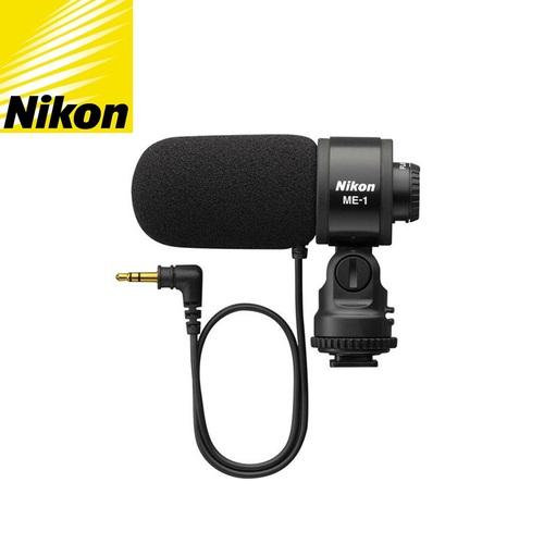尼康原廠Nikon降噪單一指向性電容式麥克風ME-1收音麥克風(3.5mm TRS立體聲)錄音麥克風mic