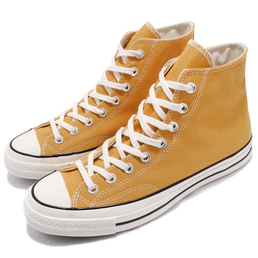CONVERSE 休閒鞋 All Star 70 男鞋 女鞋 高筒 1970 情侶鞋 三星 黑標 黃 米白 [162054C]