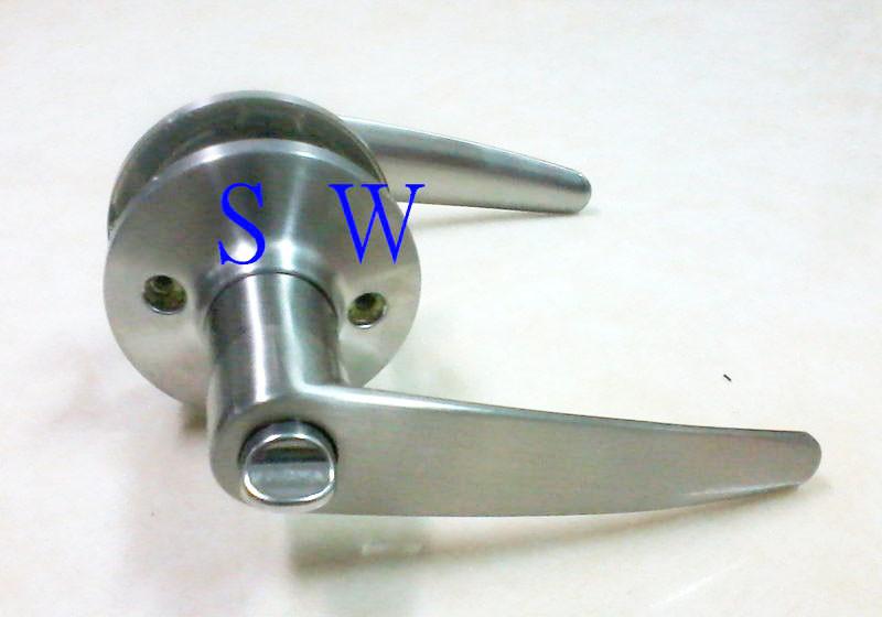 廣安牌 lh601 水平鎖 60 mm (無鑰匙) 管型 扳手鎖 水平把手 浴廁鎖 浴室鎖 廁所鎖門