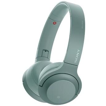 ブルートゥースヘッドホン h.ear on 2 Mini Wireless ホライズングリーン WH-H800 GM [リモコン・マイク対応 /Bluetooth /ハイレゾ対応]