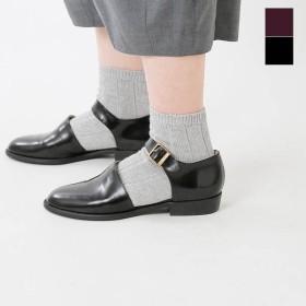 【30%OFF】tisimo ティシモ レザーストラップフラットシューズ