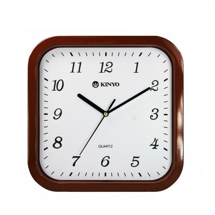 時鐘 賣家送電池 耐嘉 KINYO CL-110 方形靜音掛鐘 掃描機芯 掛鐘 超靜音