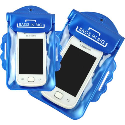 【iSFun】戲水專用*手機透明防水袋/二色