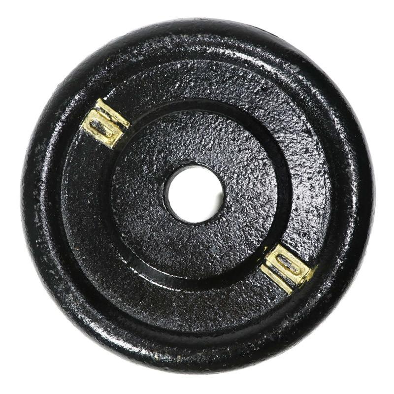 鑄鐵槓片10磅(槓鈴片/啞鈴片/舉重/重訓)