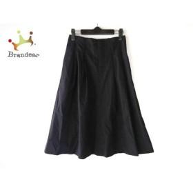 マーガレットハウエル MargaretHowell ロングスカート サイズ1 S レディース 美品 黒   スペシャル特価 20190905