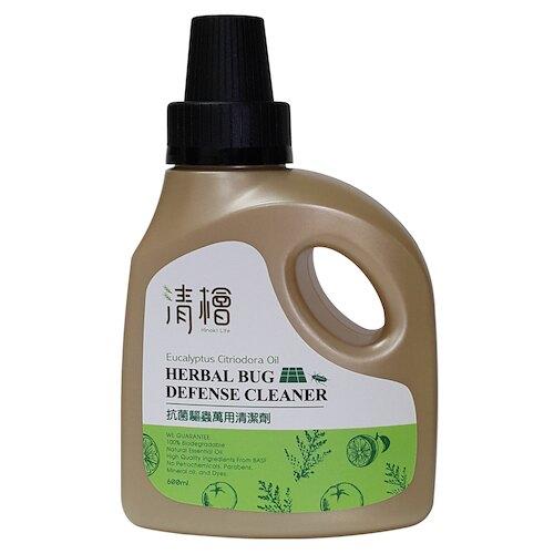 清檜抗菌驅蟲萬用清潔劑600ml--「天然≠無效」 檸檬桉油獲美CDC推薦 家有小孩/毛孩別緊張,輕鬆驅趕害蟲,讓您擁有舒適光亮的潔淨空間