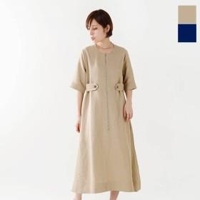 STUDIO NICHOLSON スタジオ ニコルソン ヴィスコース×リネン テンダードレス TENDER DRESS A sn-288a