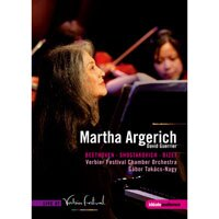 阿格麗希 在韋爾比亞音樂節 Martha Argerich at the Verbier Festival (DVD) 【EuroArts】