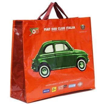 フィアット FIAT 500 CLUB ITALIAショッパー(レッド)