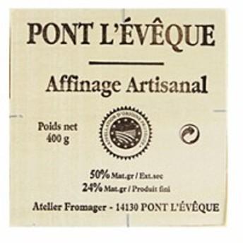 チーズ アンジュロの名で作られていた、フランス最古のフロマージュのひとつ!ポン・レベック(ポンレベック)A.O.C【350g】【冷蔵のみ】