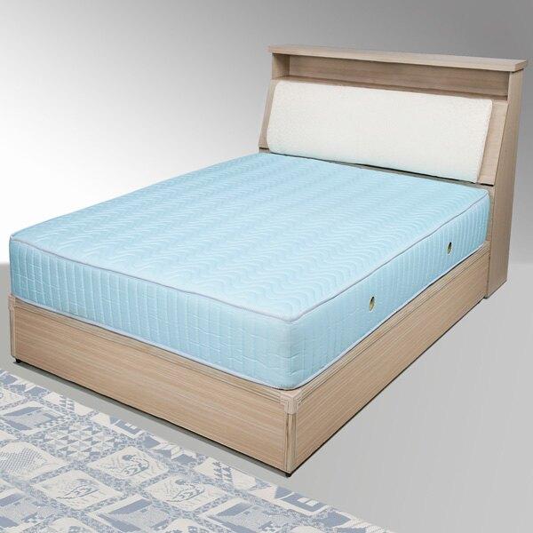 黛絲床組-單人3.5尺(白橡木紋)❘單人床/床組/床台/床頭箱【YoStyle】