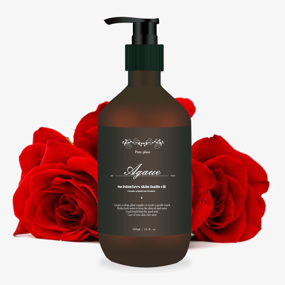 agaue歐嘉薇-舒敏潤膚沐浴油500ml(不含ippipm易致痘成分採用植物精油等植物油)