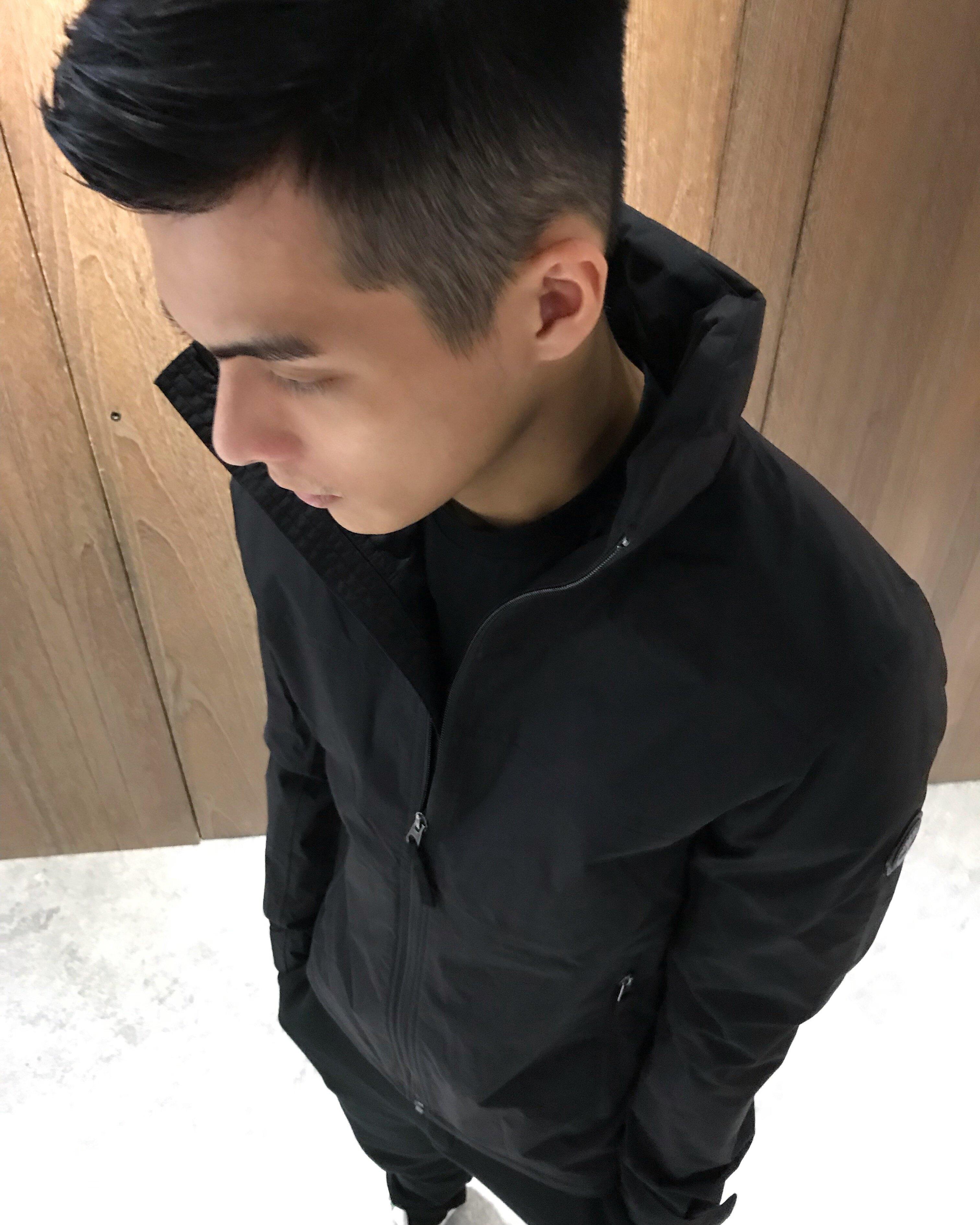 美國百分百【Timberland】 外套 夾克 防水 防風 機能外套 男款 連帽 外衣 耐磨 黑色 S號 J615