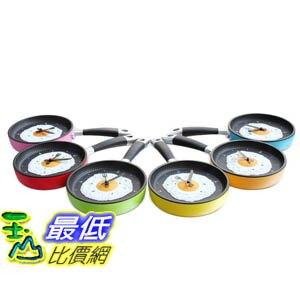 [玉山最低比價網] 創意 個性 煎蛋鍋 平底鍋 時樂鍋 造型 時鐘 掛鐘 實用方便(591451_k29)