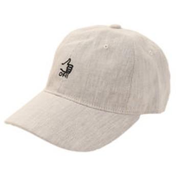 【Super Sports XEBIO & mall店:帽子】リネン刺繍キャップ OK 897PA9ST1751 NTL
