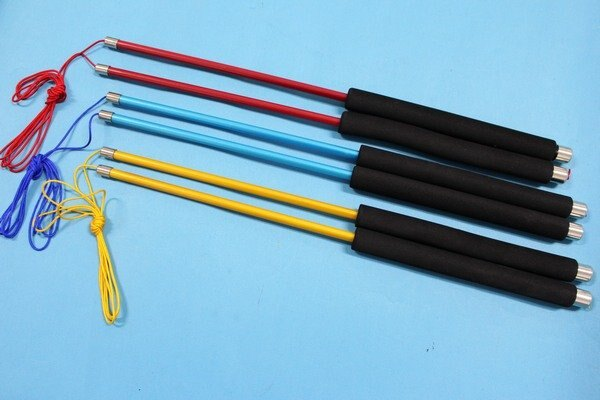 信海碳纖維扯鈴桿+線 彩色碳纖維扯鈴棒 扯鈴桿 扯鈴棍(彩色加長型37cm)/一組入(定580)
