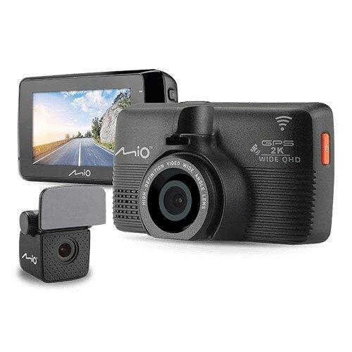 送32G卡+手機支架『 Mio MiVue 798+A40後鏡頭 = 798D 』2K畫質/WiFi星光級Sony Sensor+前後雙鏡頭行車記錄器+GPS測速器/紀錄器/145度