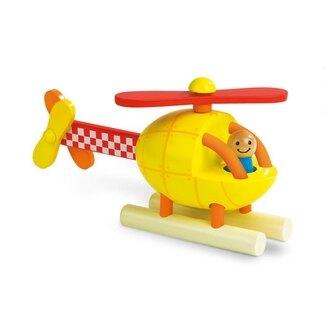 618購物節【法國Janod】磁性拼裝積木-直升機 J05206 /組
