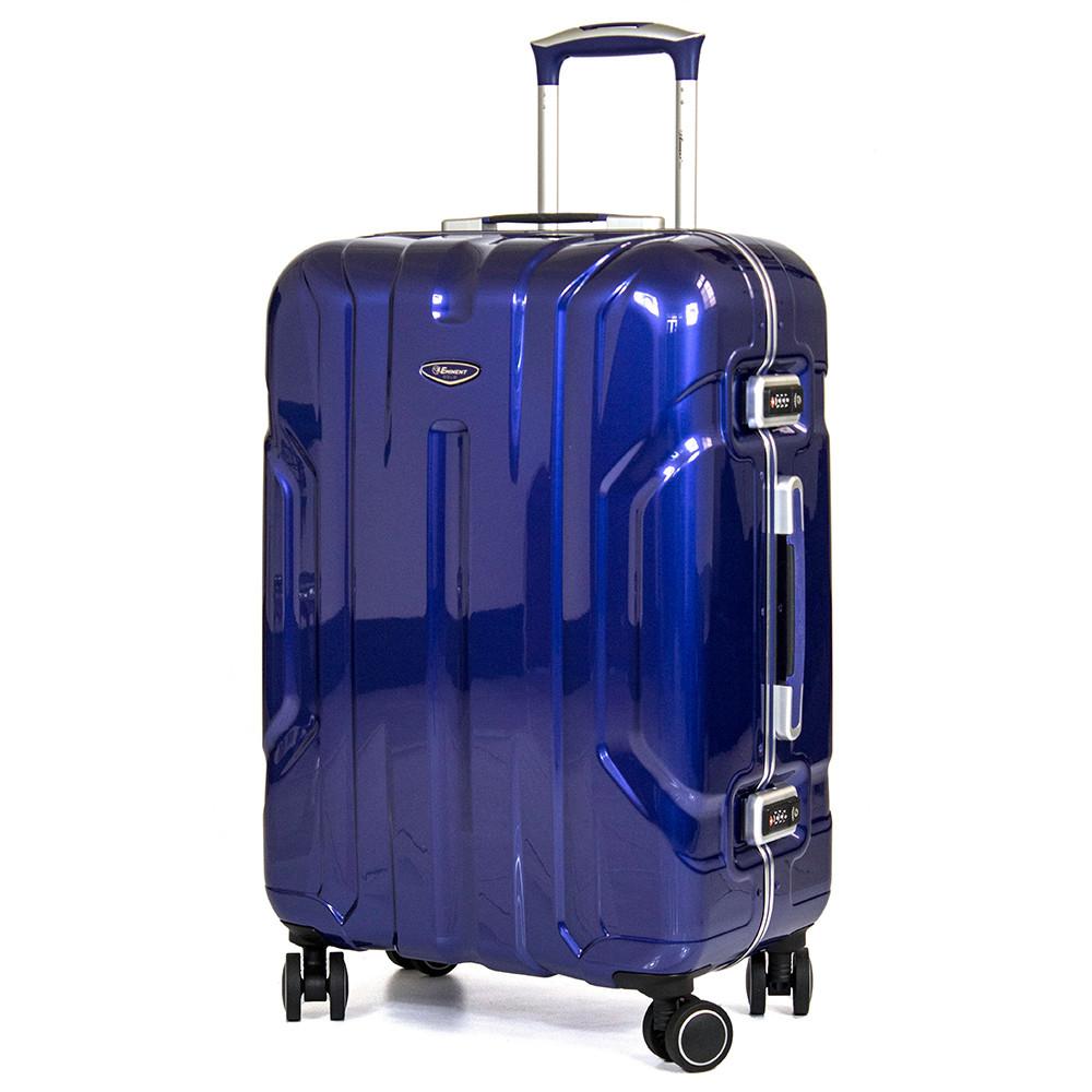 eminent 雅仕20吋鋼鐵亮面風格鋁框pc行李箱(ura-9l6-20)