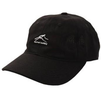 【Super Sports XEBIO & mall店:帽子】リネン刺繍キャップ Gorrect holding 897PA9ST1732 BLK