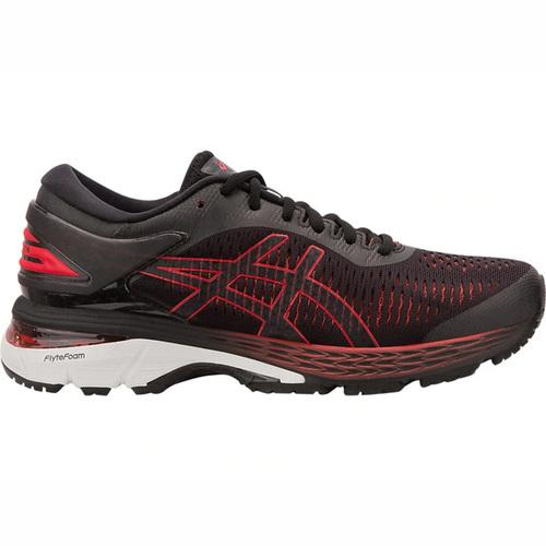 Asics GEL-Kayano 25 2E [1011A029-004] 男鞋 運動 慢跑 休閒 寬楦 黑紅 亞瑟士