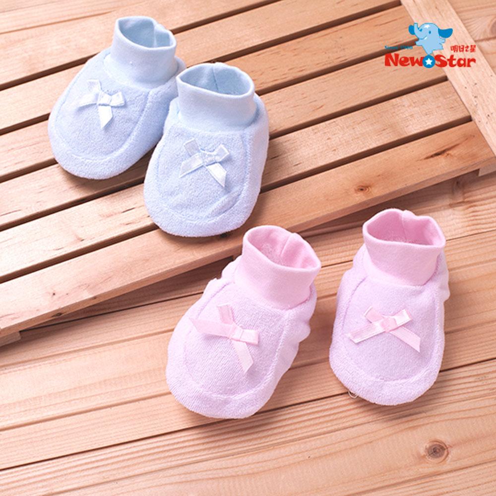 Newstar明日之星 人氣氣質款~新生兒嬰兒護腳套-彈性束口