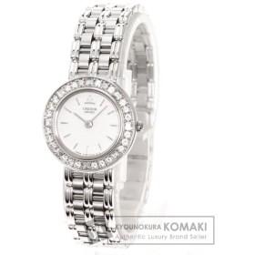 SEIKO セイコー 4J80-0070 クレドール 腕時計 K18ホワイトゴールド K18WG レディース  中古
