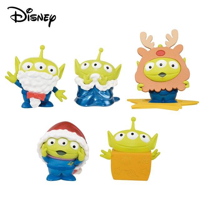 全套5款【日本正版】三眼怪 冬季派對 WCF 公仔 模型 玩具總動員 Banpresto 萬普 - 387575
