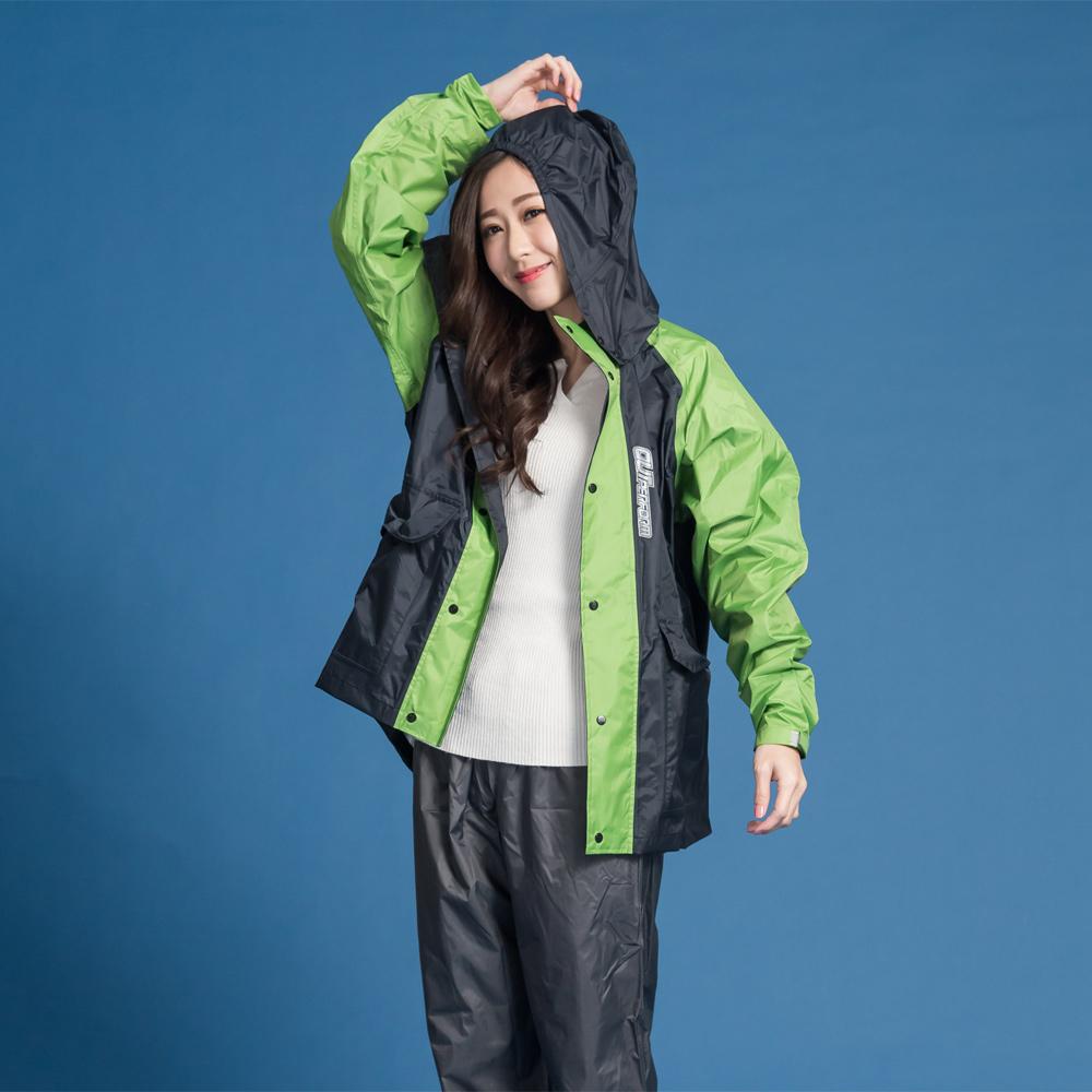 藏衫罩背背款-大人背包兩件式風雨衣