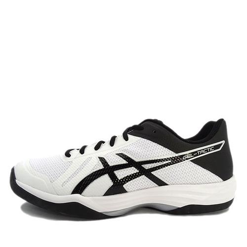 Asics GEL-Tactic [TVR716-0190] 男鞋 運動 排球 羽球 桌球 穩定 彈跳 亞瑟士 白