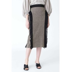 ADORE / アドーア サーブルヘリンボーンスカート