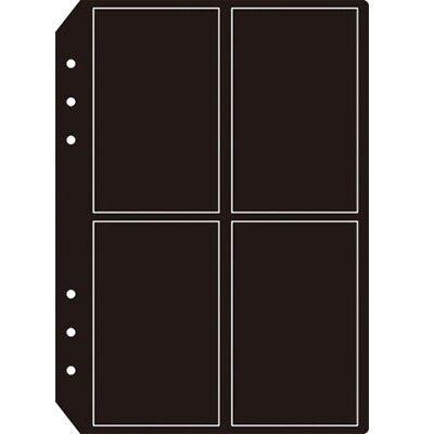 美加美 AO1507 6孔4格名片內頁補充包(5入) 6包裝