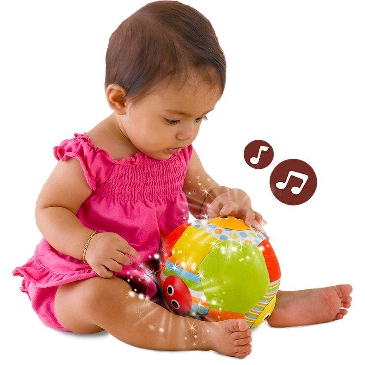 預購6月 以色列 Yookidoo 聲光音樂布球