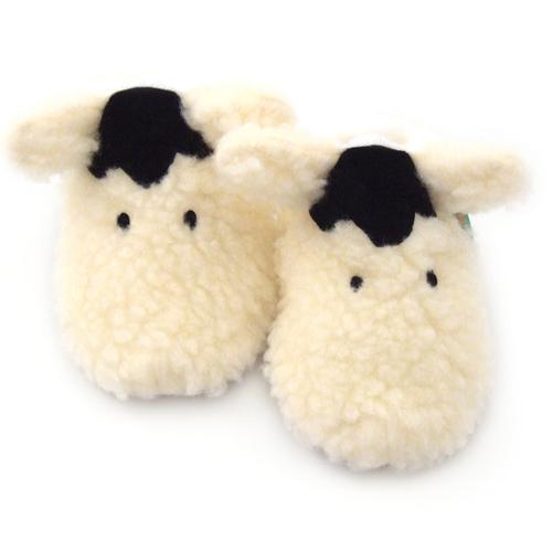 【英國 Funky Feet】手工學步鞋 室內鞋 小綿羊 6-24M