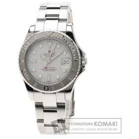 ROLEX ロレックス 168622 ヨットマスター 腕時計 ステンレススチール SS プラチナ ボーイズ  中古