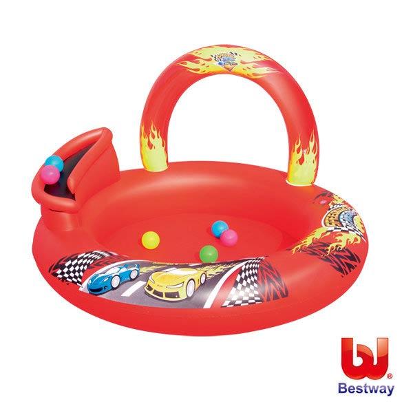 《Bestway》賽車遊戲池/球池/水池/游泳池/戲水池/蓄水池(69-13989)