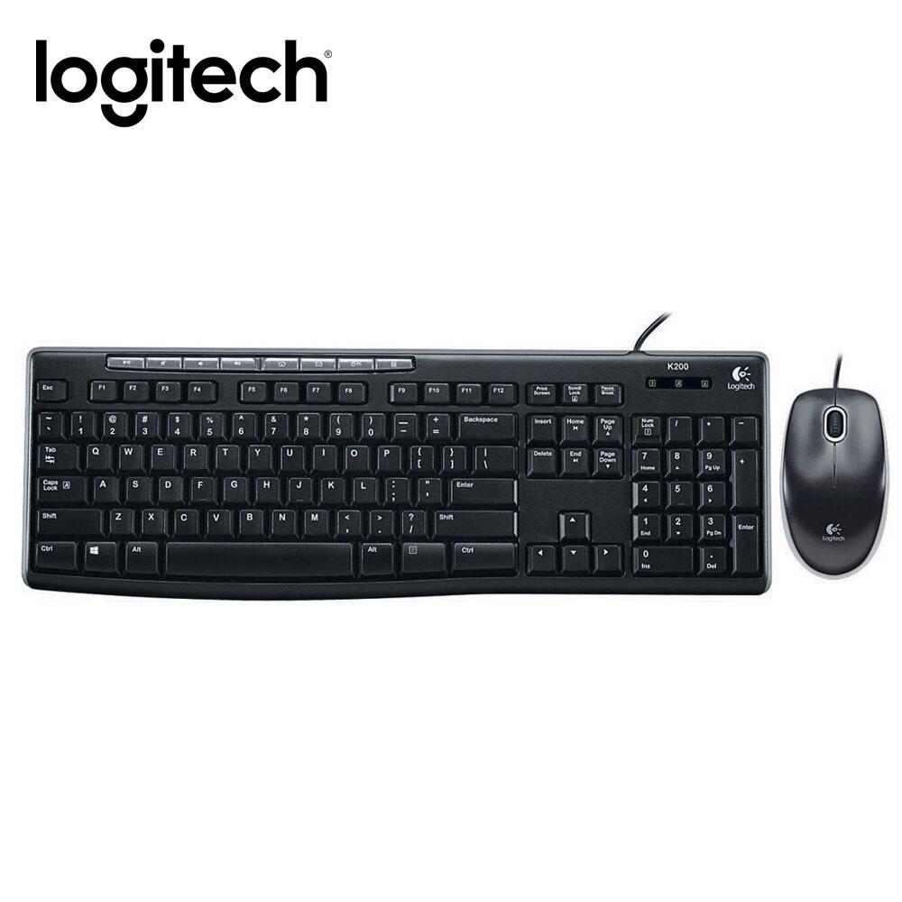 【領券最高現折$100+高點數回饋】Logitech 羅技 MK200 USB 鍵盤滑鼠組 繁體中文版